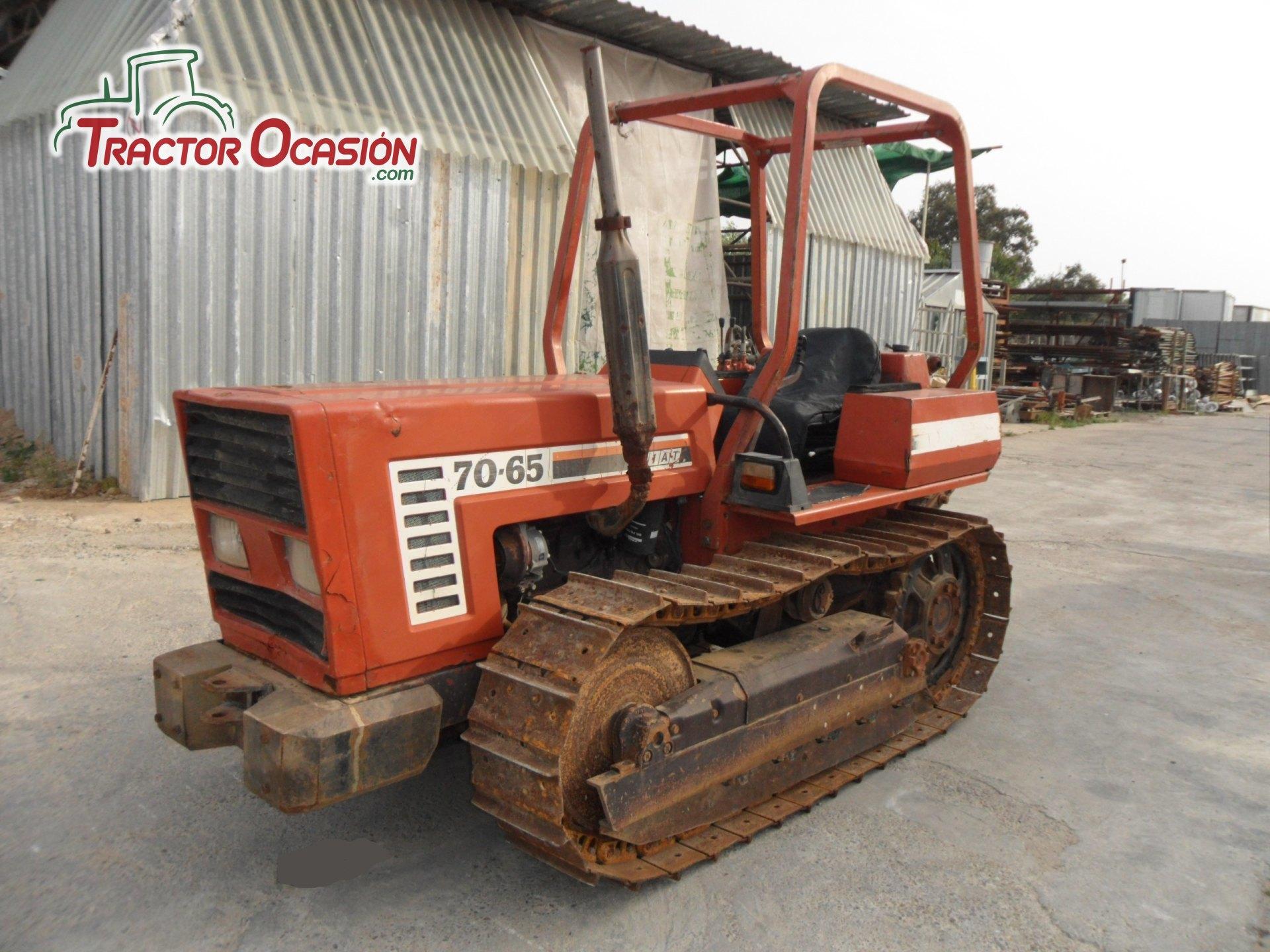 en detalle tractor fiat 70